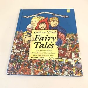 Look And Find Fairy Tales Childrens Book